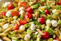 Avocado Caprese Pasta Salad Recipes