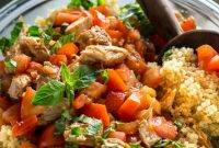 Chicken Bruschetta Quinoa Salad - Delicious Home Recipes