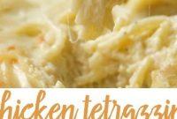 Chicken Tetrazzini Recipe - Appetizers