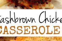 Hash Brown Chicken Casserole - Appetizers
