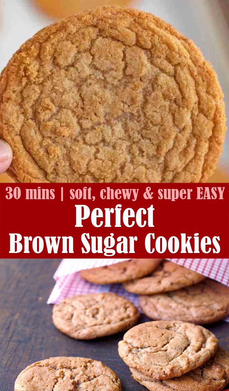 Perfect Brown Sugar Cookies