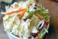 The Best Coleslaw Ever - Delicious Home Recipes