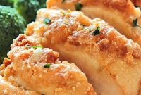 Baked Garlic Parmesan Chicken - Food Blogger