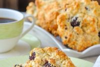 Blackberry Lime Buttermilk Drop Scones