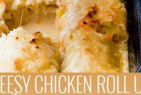 CHICKEN ROLL-UPS - Mom's Recipe Healthy