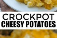 CROCKPOT CHEESY POTATOES | All Recipes Easy