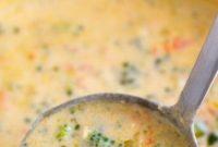 Creamy Broccoli Cheese Soup Recipe