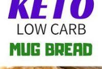 EASY KETO LOW CARB MUG BREAD RECIPE