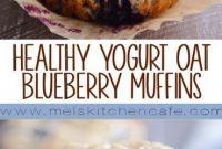HEALTHY YOGURT OAT MUFFINS - Appetizers