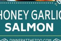 Honey Garlic Salmon - Mom's Recipe Healthy