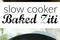 SLOW COOKER BAKED ZITI   All Recipes Easy