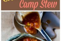 Slow Cooker Crock Pot Camp Stew Recipe