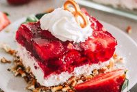 Strawberry Pretzel Dessert Recipe - FoodinGrill