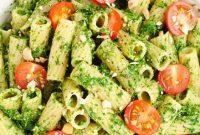 Vegan Avocado Pesto Pasta - Appetizers