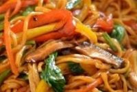 Vegetable Lo Mein - Healthy Living and Lifestyle