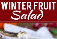 Winter Fruit Salad - Appetizers