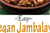 Easy Vegan Jambalaya - Mom's Recipe Healthy