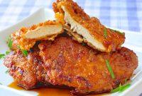 Bäked Double Crunch Honey Gärlic Chicken