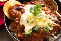 CHILI CON CARNE RECIPES | Food Blogger