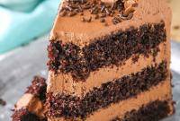 CHOCOLATE MOUSSE CAKE | Food Blogger