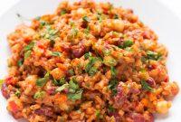 SIMPLE VEGAN JAMBALAYA | Food Blogger