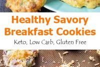 Healthy Savory Breakfast Cookies