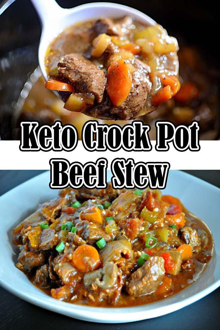 Keto Crock Pot Beef Stew
