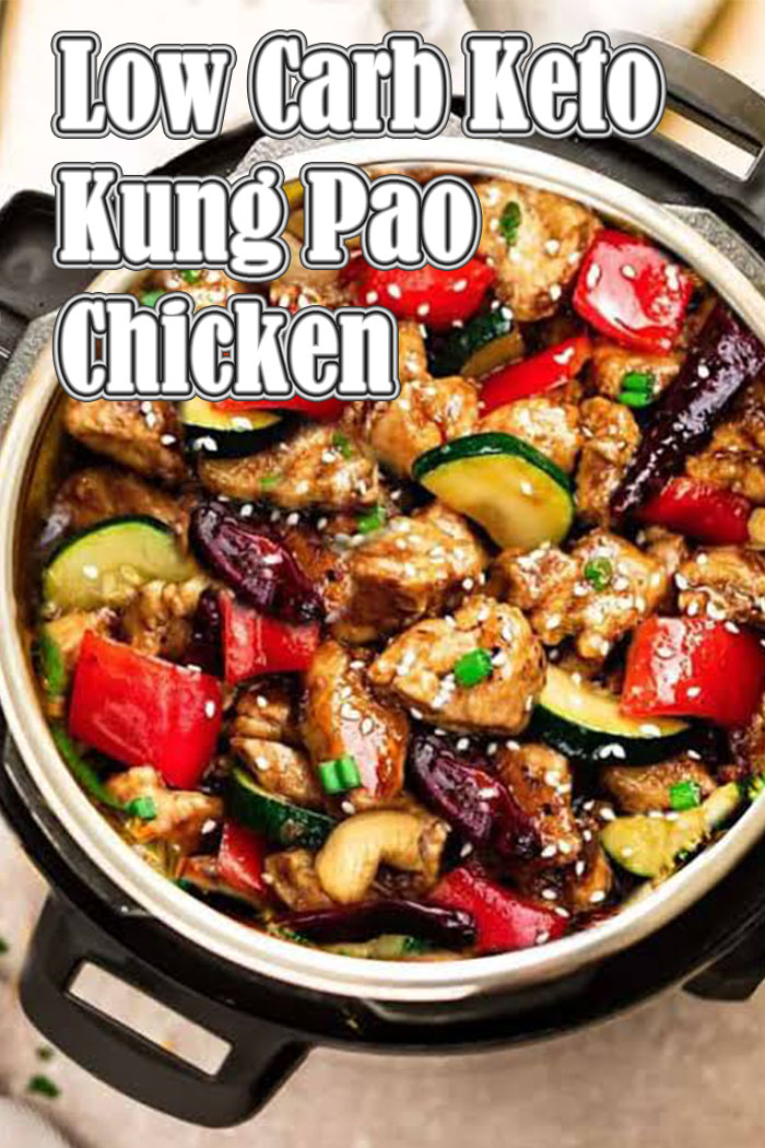 Low Carb Keto Kung Pao Chicken