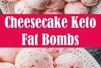 Cheesecake Keto Fat Bombs Recipe
