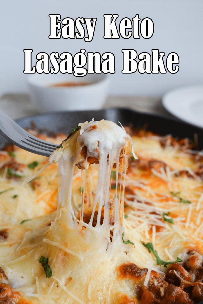 Easy Keto Lasagna Bake