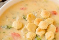 Cheddar Broccoli Potato Soup Recipe