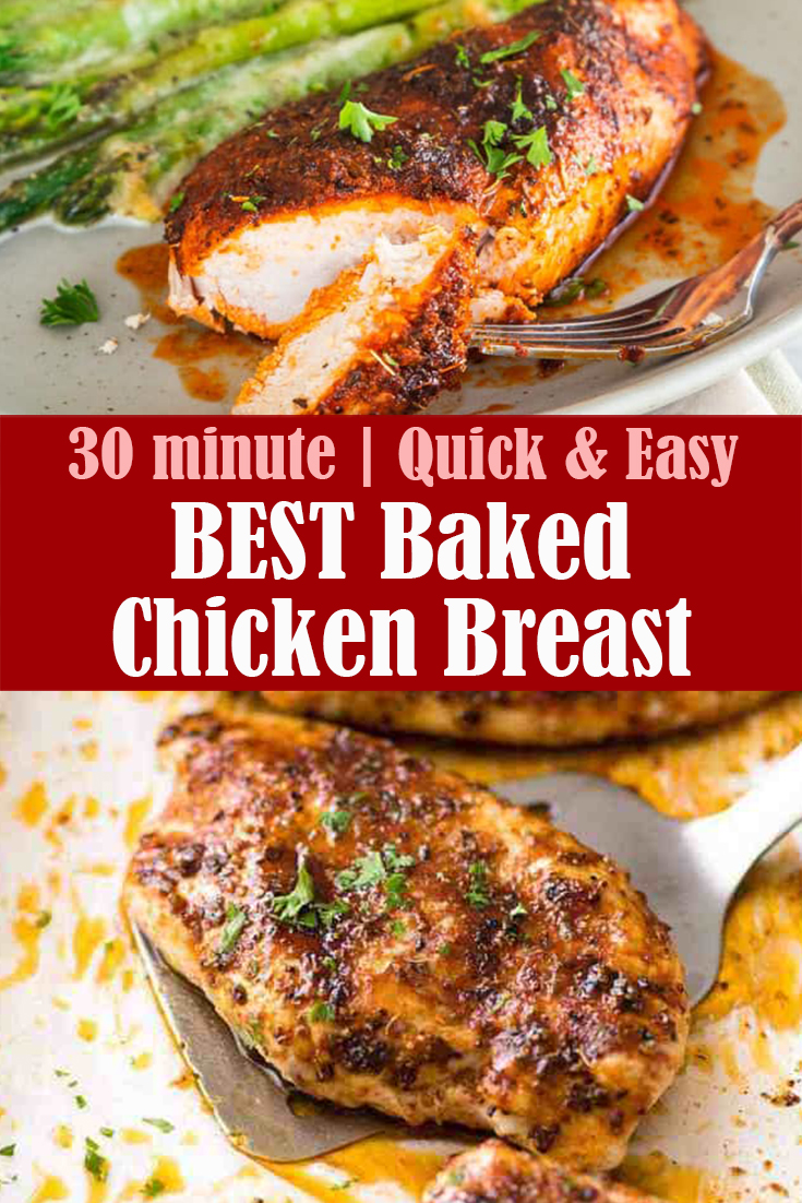 Best Baked Chicken Breast Recipe