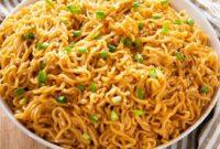 Easy Sesame Garlic Ramen Noodles